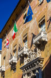 The Palace of Prefecture in Turin Royalty Free Stock Photo