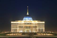 Palace of president. Astana Kazakhstan Royalty Free Stock Photos