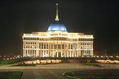 Palace of president. Astana Kazakhstan Royalty Free Stock Image