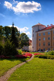 Palace of the President of Latvia in the summer Royalty Free Stock Photo
