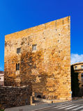 Palace of Pretori Roma in summer. Tarragona Royalty Free Stock Images