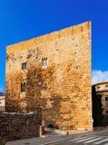 Palace of Pretori Roma in summer. Tarragona Royalty Free Stock Images