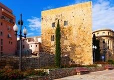 Palace of Pretori Roma in Tarragona Royalty Free Stock Photos