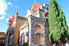 Palace of Princess Gagarina in Crimea Royalty Free Stock Photography