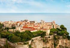 Palace Prinzen in Monaco Lizenzfreies Stockfoto