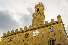 Palace of Priori in Volterra, Italy town Royalty Free Stock Photography