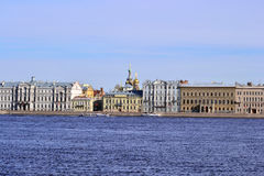 Palace Quay in St.Petersburg Stock Photo