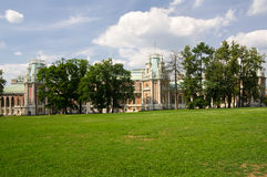 Palace of queen Ekaterina Second Great Royalty Free Stock Photos