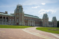 Palace of queen Ekaterina Second Great Stock Images