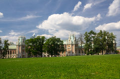 Palace of queen Ekaterina Second Great Royalty Free Stock Photo