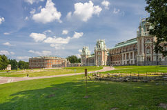 Palace of queen Ekaterina Second Great Stock Photo