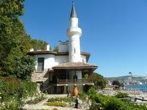 Palace of queen Mari in Bulgaria, Balchik royalty free stock photo