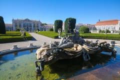 Palace of Queluz Stock Photos
