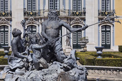 Palace of Queluz - Lisbon - Portugal Stock Photo