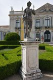 The Palace of Queluz is a Portuguese 18th-century palace located Stock Image