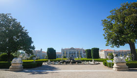 Palace of Queluz Stock Images