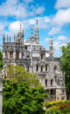 Palace of Quinta da Regaleira, an estate located near the histor Stock Photo