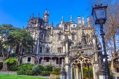 Palace Quinta da Regaleira  in Sintra Stock Image