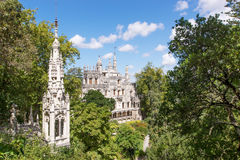 Palace Quinta da Regaleira in Sintra Royalty Free Stock Images