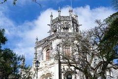 Palace at Quinta da Regaleira in Sintra Stock Image