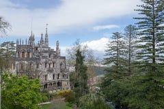 Palace at Quinta da Regaleira in Sintra Stock Photo