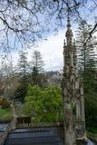 Palace at Quinta da Regaleira in Sintra Royalty Free Stock Image