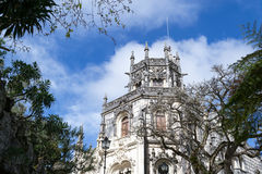 Palace at Quinta da Regaleira in Sintra Stock Images