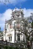Palace at Quinta da Regaleira in Sintra Royalty Free Stock Photo