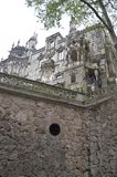 Palace Quinta De La Regaleira Historical Center UNESCO Heritage Built By Carvalho Monteiro In The Seventeenth Century Of Roman,. Gothic, Renaissance And stock image