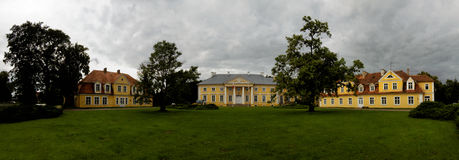 Palace in Racot. Palace in Greater Poland Voivodeship, in west-central Poland Stock Image