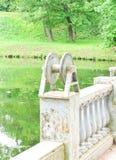 Palace railings Stock Photo