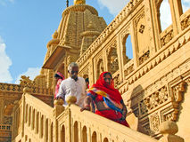 Palace in Rajasthan Stock Image