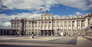 Palace Real de Madrid, Spain Royalty Free Stock Photo