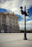 Palace Real de Madrid, Spain. The Palace Real de Madrid, Spain Stock Photo