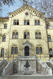 Palace of Rectorate in Zagreb, Croatia Royalty Free Stock Photos