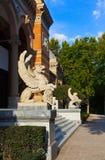 Palace at Retiro park - Madrid Stock Photography
