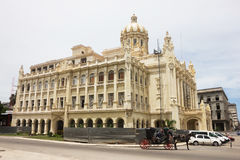 Palace of Revolution in the downtown of Havana. Stock Photos
