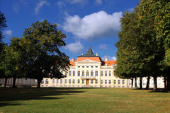 Palace in Rogalin. Royalty Free Stock Image