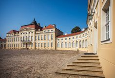 Palace in Rogalin Stock Images
