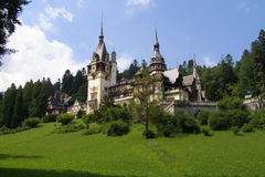 Palace in Romania Royalty Free Stock Image