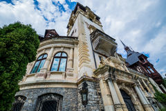 Palace in Romania Royalty Free Stock Photo