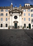 Palace in Rome Stock Photo