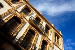 Palace in Ronda, Andalusia, Spain stock photography