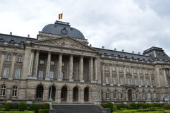 Palace Royale in Brussels. Belgium Royalty Free Stock Photo