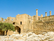 Palace ruins in Greece. royalty free stock image