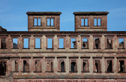 Palace Ruins at Heidelberg Royalty Free Stock Images
