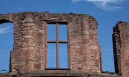 Palace Ruins at Heidelberg Stock Image