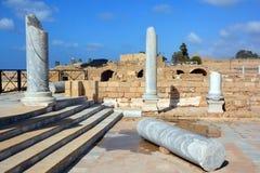 Free Palace Ruins In Caesarea Maritim Stock Photos - 80715863