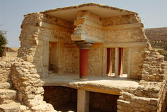 Palace ruins of Knossos Royalty Free Stock Photos