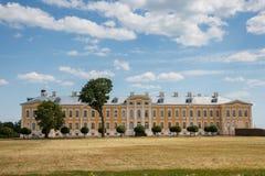 Palace Ruldale, Latvia Royalty Free Stock Photography